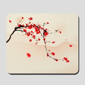 ASIAN TREE BRANCH Mousepad