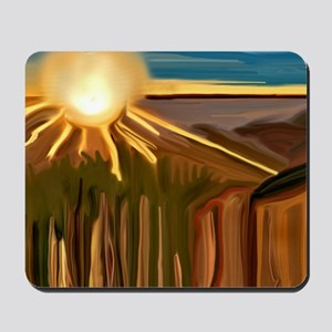 Dance of the Cacti Abstract Art Mousepad