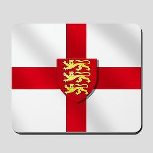 England Three Lions Flag Mousepad