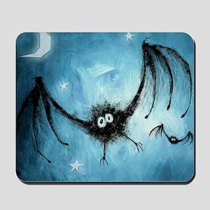 bat_blue_miniposter_12x18_fullbleed Mousepad