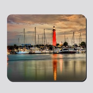 Ponce Inlet Lighthouse in FL Mousepad