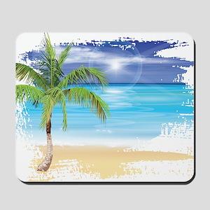 Beach Scene Mousepad