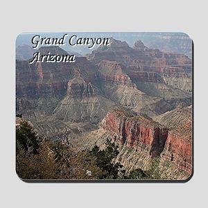 Grand Canyon, Arizona 2 (with caption) Mousepad