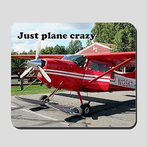 Just plane crazy: skiplane, Alaska Mousepad