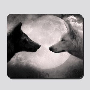 Best selling wolf Mousepad