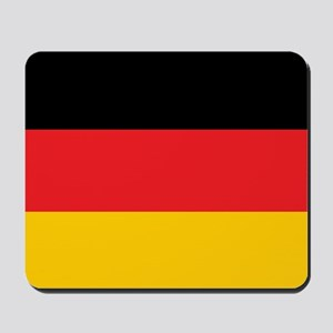 German Tricolor Flag in Black Red and Yellow Mouse