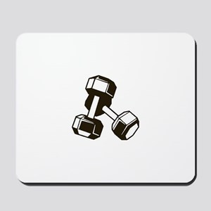 Fitness Dumbbells Mousepad