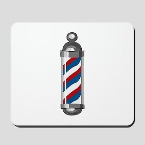 Barber Pole Mousepad