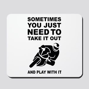 Take It Out And Play With It Mousepad