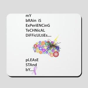 Tech Difficulties Mousepad