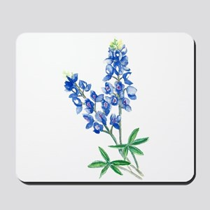 Watercolor Bluebonnet 1 Mousepad
