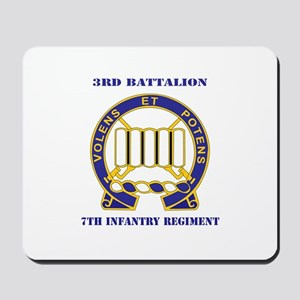 DUI - 3rd Battalion 7th Infantry Regiment with Tex