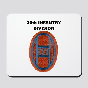 30th INFANTRY DIVISION Mousepad