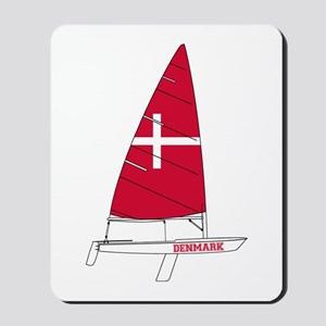 Denmark Dinghy Sailing Mousepad