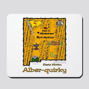 NM-Alber-quirky! Mousepad