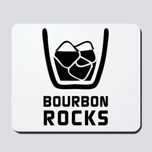 Bourbon Rocks Mousepad