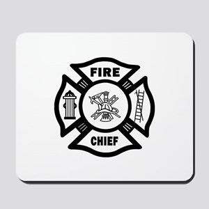 Fire Chief Mousepad