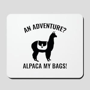 Alpaca My Bags Mousepad