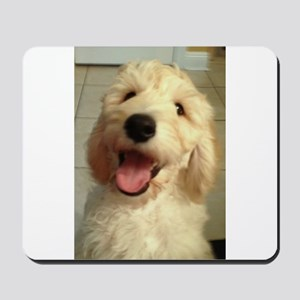 Happy Goldendoodle Mousepad