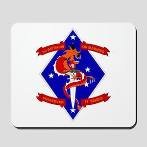 1st Battalion - 4th Marines Mousepad