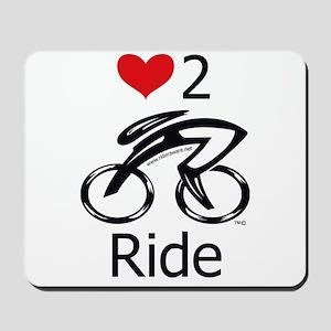 Love 2 ride Mousepad