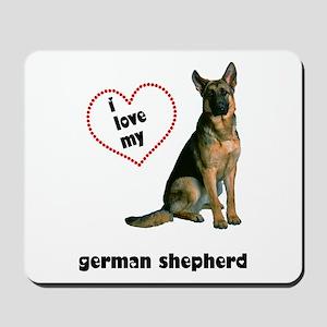 German Shepherd Lover Mousepad