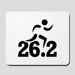 26.2 miles marathon Mousepad