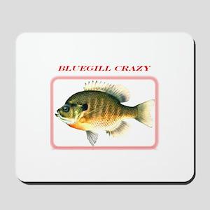 Bluegill Crazy Mousepad