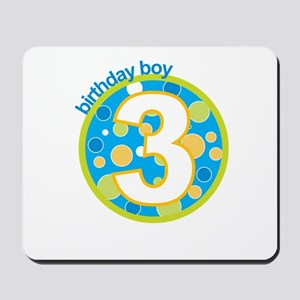 3rd birthday t-shirts Mousepad