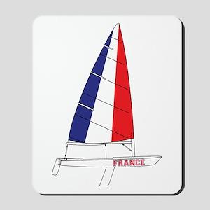 France Dinghy Sailing Mousepad
