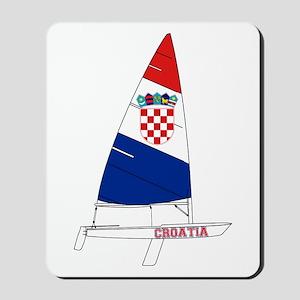 Croatia Dinghy Sailing Mousepad