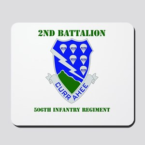 DUI - 2nd Bn - 506th Infantry Regt with Text Mouse