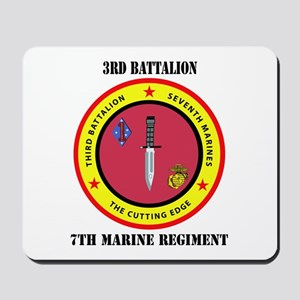 2nd Battalion 7th Marines Mousepad