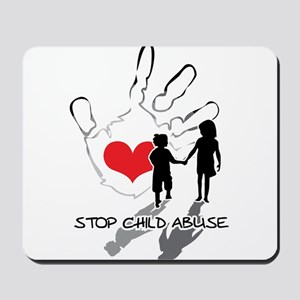 Stop Child Abuse Mousepad