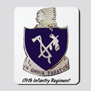 Mousepad w/ 179th Crest