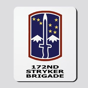 172nd Stryker Brigade<BR> Mousepad