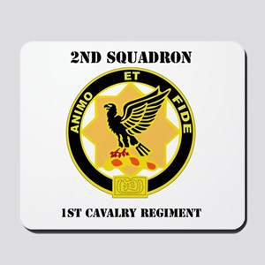 DUI - 2nd Sqdrn - 1st Cavalry Regt with Text Mouse