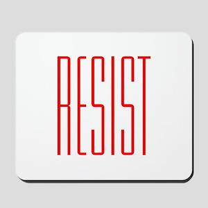 RESIST (red) Mousepad