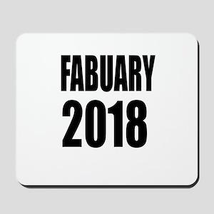 February 2018 Birthday Designs Mousepad