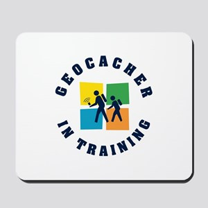 Geocacher in Training Mousepad