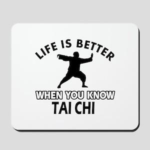 Tai Chi Vector designs Mousepad