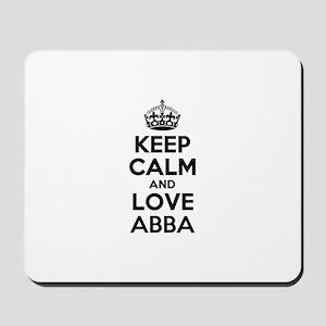 Keep Calm and Love ABBA Mousepad