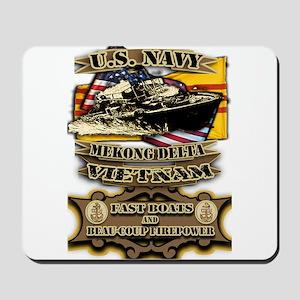 Navy Vietnam Mekong Delta Mousepad