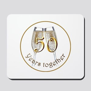 50 Years Together Mousepad