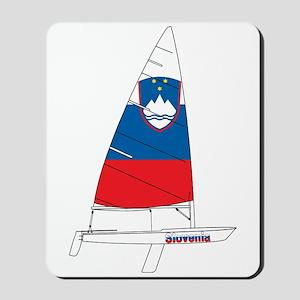 Slovenia Dinghy Sailing Mousepad