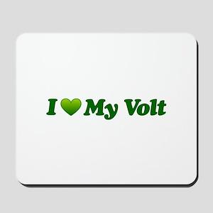 I Love My Volt Mousepad
