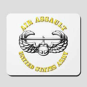 Emblem - Air Assault Mousepad
