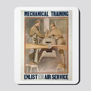 Air Service WWI Poster Mousepad