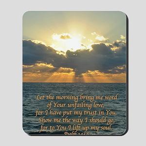 psalm143v Mousepad