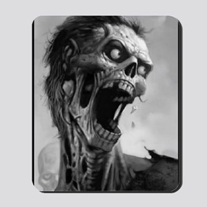 screamingzombievert_mini poster_12x18-fu Mousepad